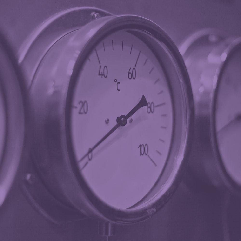 2.5in High Pressure CBM Pressure Gauge