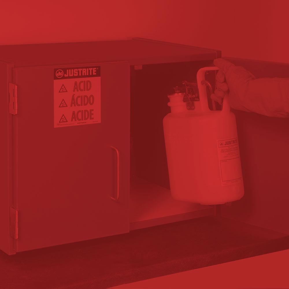 Corrosive Liquids Cabinet