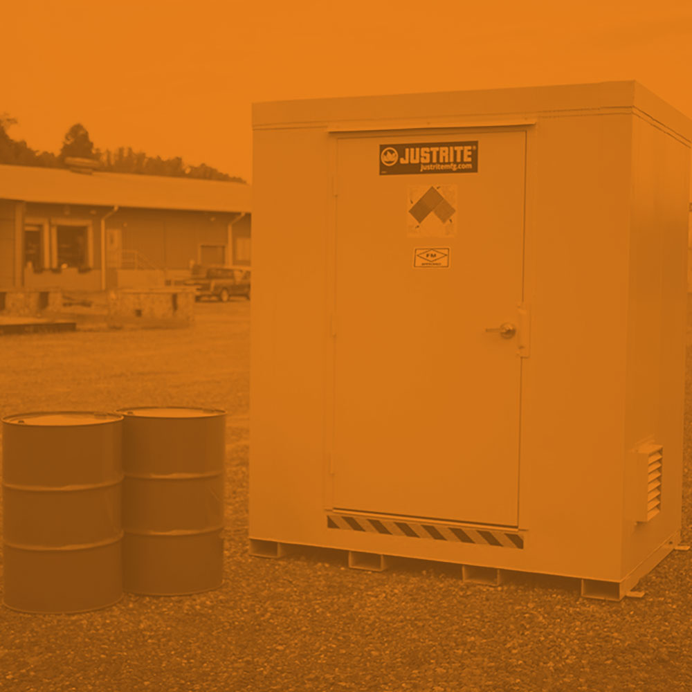 Fire Rated Outdoor Safety Locker