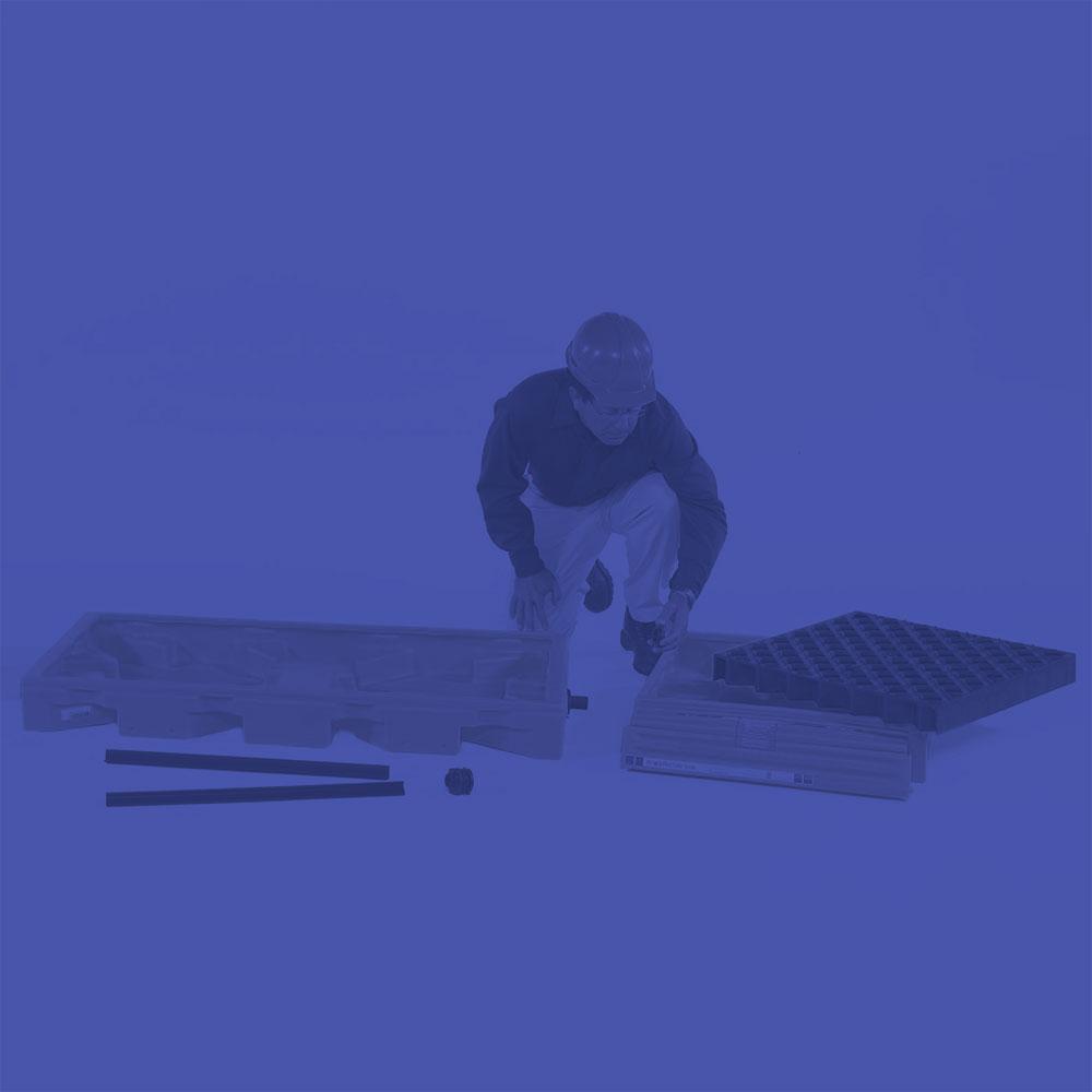 2 Drum Workfloor Spill Deck