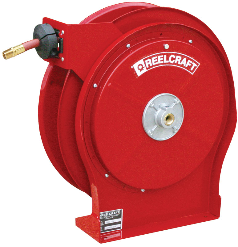 Premium Duty Spring Retractable Hose Reel