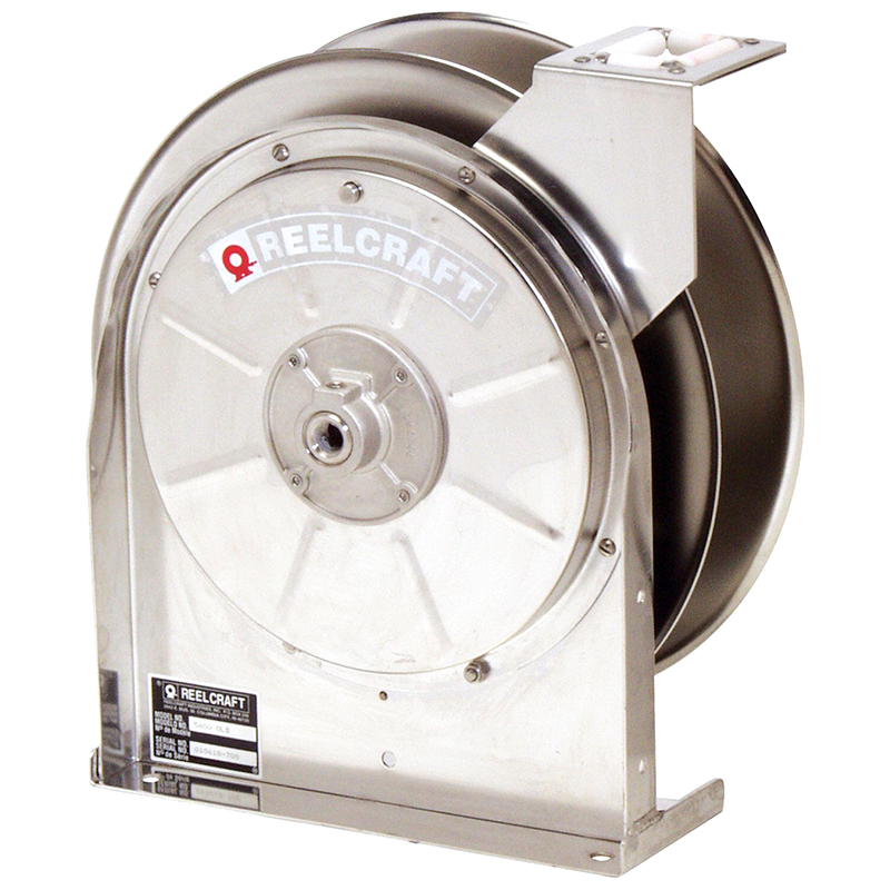 Spring Retractable Stainless Steel Hose Reel