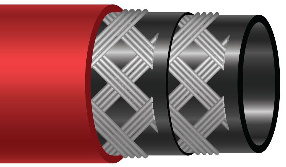 Flextsteel 250 EPDM-20 Steam Hose Assembly