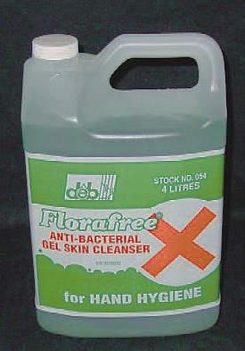 SOAP LOTION FLORAFREE 4L JUG