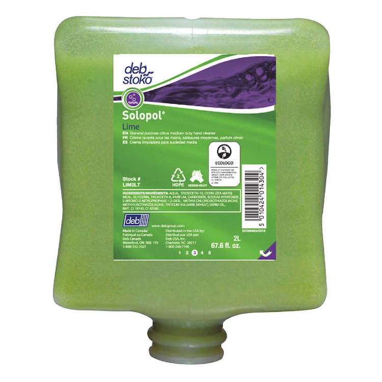 SOLOPOL LIME 2L 4/CA