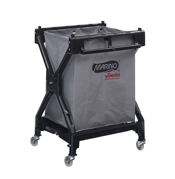 Marino X Frame Linens Cart