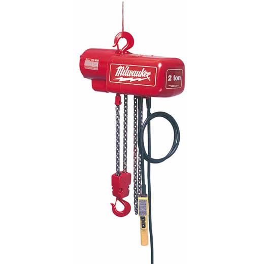 1 Ton Electric Chain Hoist 10 Ft