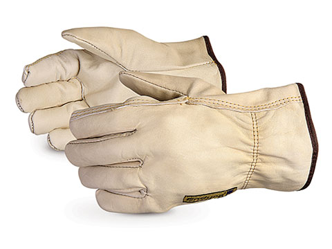 Endura® Cowhide Leather Driver Gloves