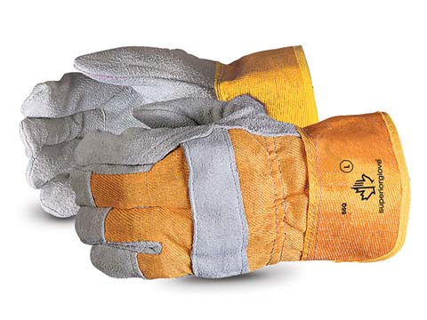 Endura® Economy Quality Split Fitters Gloves with Cotton Lined Palms