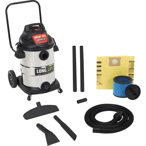 Contractor Wet/Dry Vacuums 2 HP 2-Stage Series