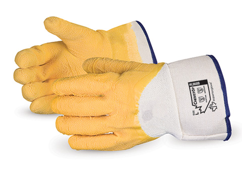 Chemstop™ Wrinkle Finish Jersey Liner Latex Palm Coated Gloves