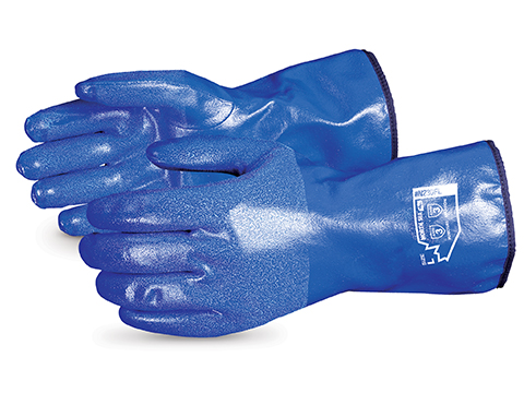 """North Sea™ 11"""" Winter-Lined Chemical-Resistant Supported Nitrile Glove"""