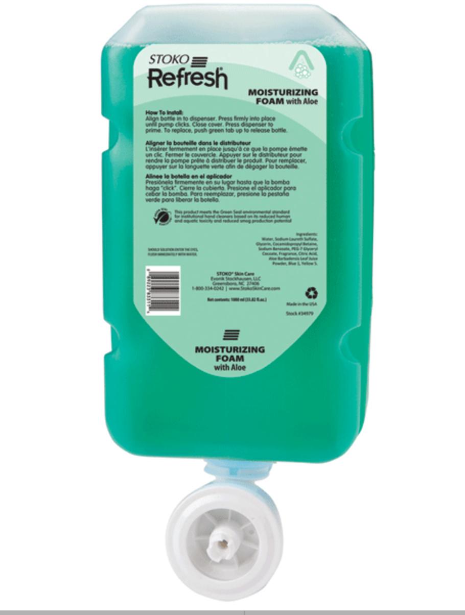 Refresh 4 in 1 Moisterizing Foam Handwash