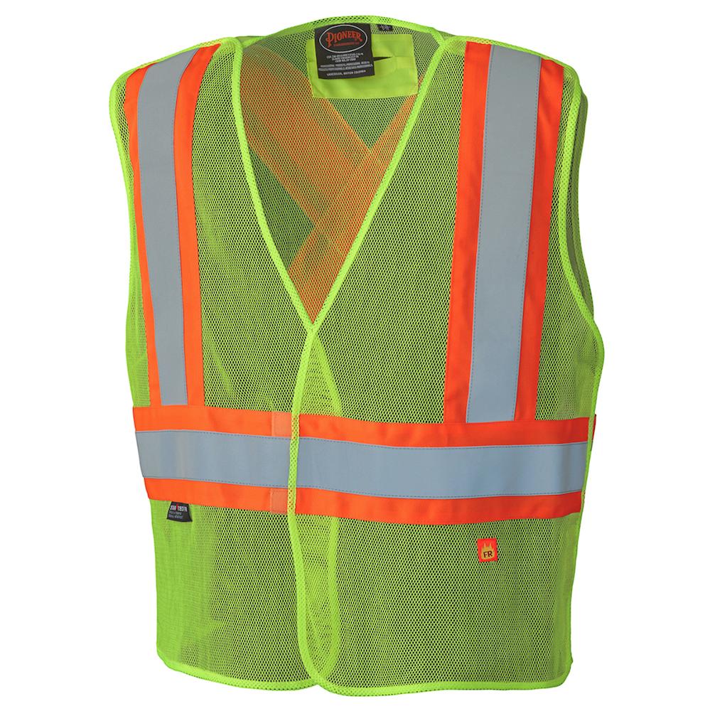 Flame Resistant Modacrylic Mesh Vest
