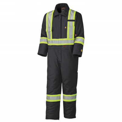 Flame Resistant Quilted Cotton Safety Coverall