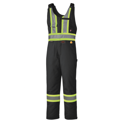 Flame Resistant Quilted Cotton Safety Overall