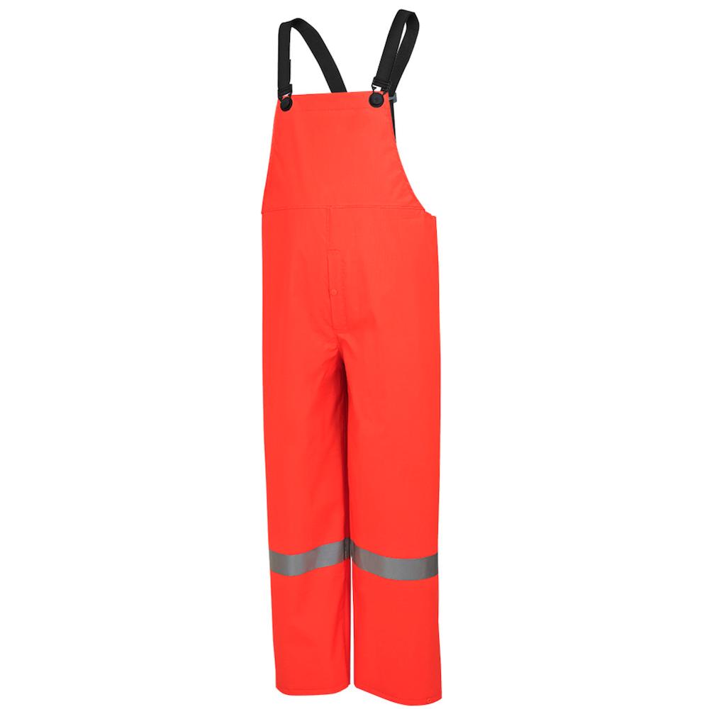 Hi-Viz PVC/Poly/PVC Rain Bib Pant