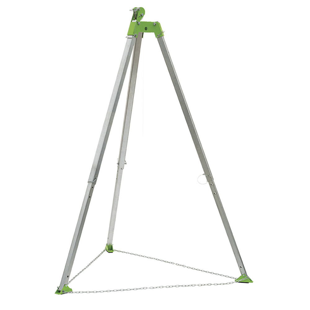 7' (2 M) Tripod With Chain And Pulley