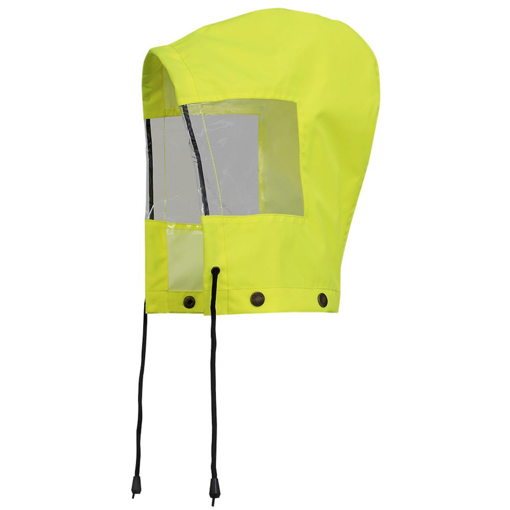 Hood For Hi-Viz Traffic Control Waterproof Safety Jacket