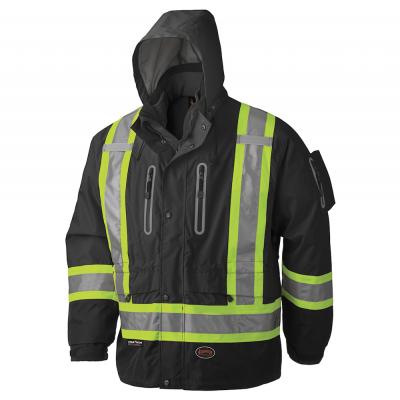 Waterproof/Breathable Premium 3-In-1 Hi-Viz Jacket