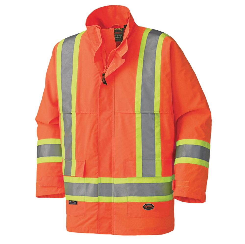 450D Hi-Viz 100% Waterproof Jacket