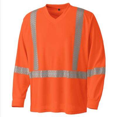 Ultra-Cool, Ultra-Breathable Long-Sleeved Safety Shirt
