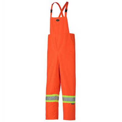 450D Hi-Viz Nailhead Polyester Waterproof Bib Pant