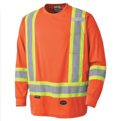 Birdseye Long-Sleeved Safety Shirt