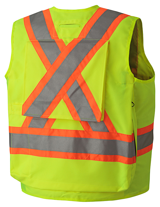 Hi-Vis Surveyors Safety Vest