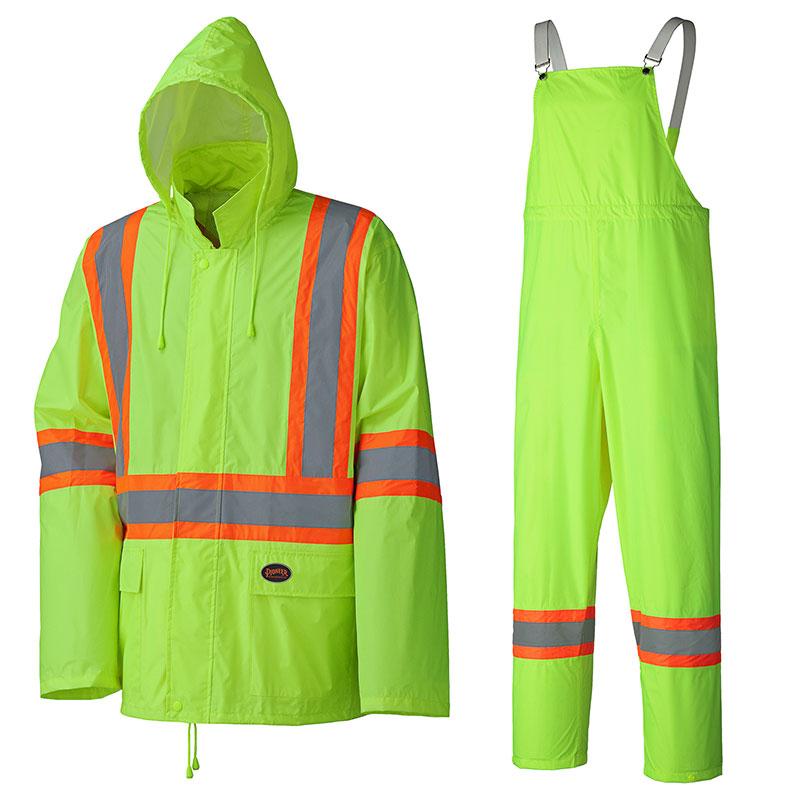 Hi-Vis Lightweight Rain Suit