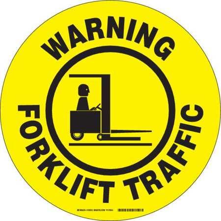Forklift Floor Marking Sign