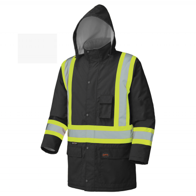 Waterproof Winter Quilted Safety Parka
