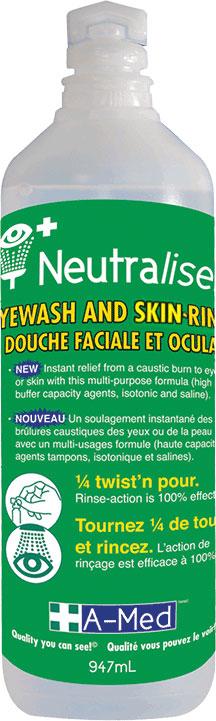 Neutraliser Eyewash & Face Rinse