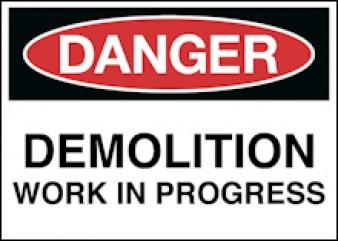 Danger - Demolition