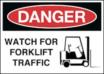 Danger - Forklift Traffic