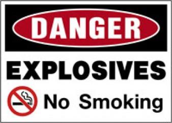 Danger - Explosives