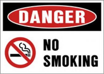 Danger - No Smoking