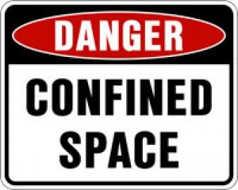 Danger - Confined Space
