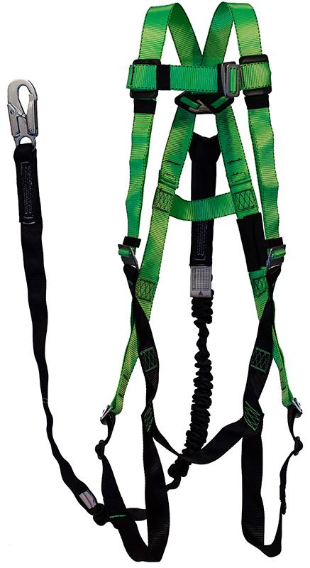 Peak Works Contractors Harness 1D Class A W/ Quick Connect Leg Straps