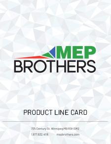 MEP Brothers 2020 Line Card