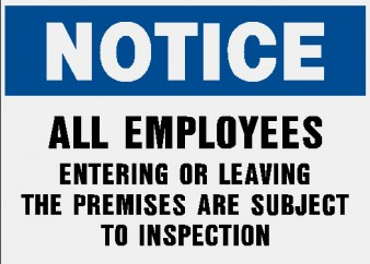 Inspection Notice