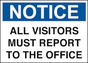 Notice All Visitors