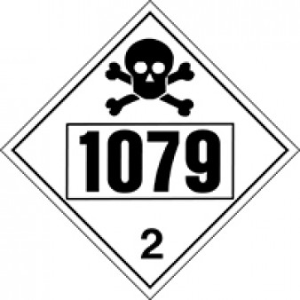 Toxic Gases - Sulphur Dioxide Class 2 UN#1079