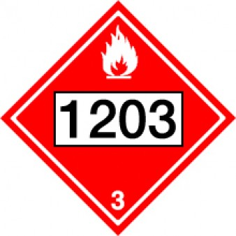 Flammable Liquids - Gasoline Class 3 UN#1203
