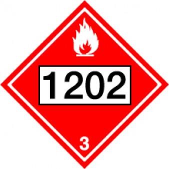 Flammable Liquids - Diesel Class 3 UN#1202