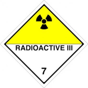 Radioactive Materials III Class 7