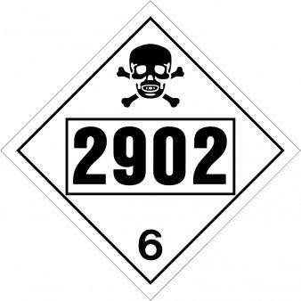 Poisonous Class 6 UN#2902