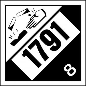 Class 8 Corrosive UN #1791 Hypochlorite Solutions