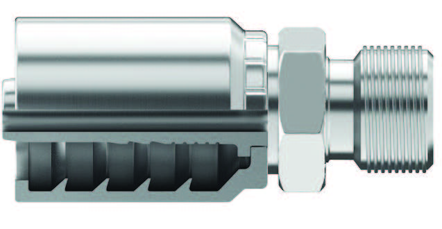 BSPP (British Standard Pipe Parallel) Male