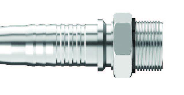 C O-Ring Boss Straight Thread (SAE J514) Male